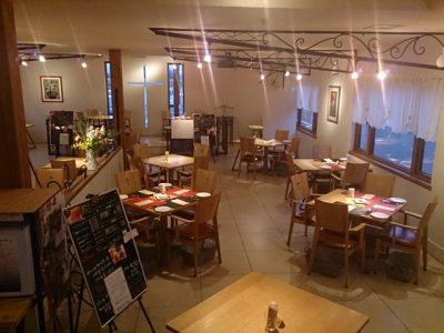 レストランウエディングの会場ディスプレイ(2017/06/26)