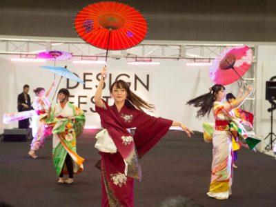デザインフェスタのショーステージに「偉伝或〜IDEAL〜」参加!