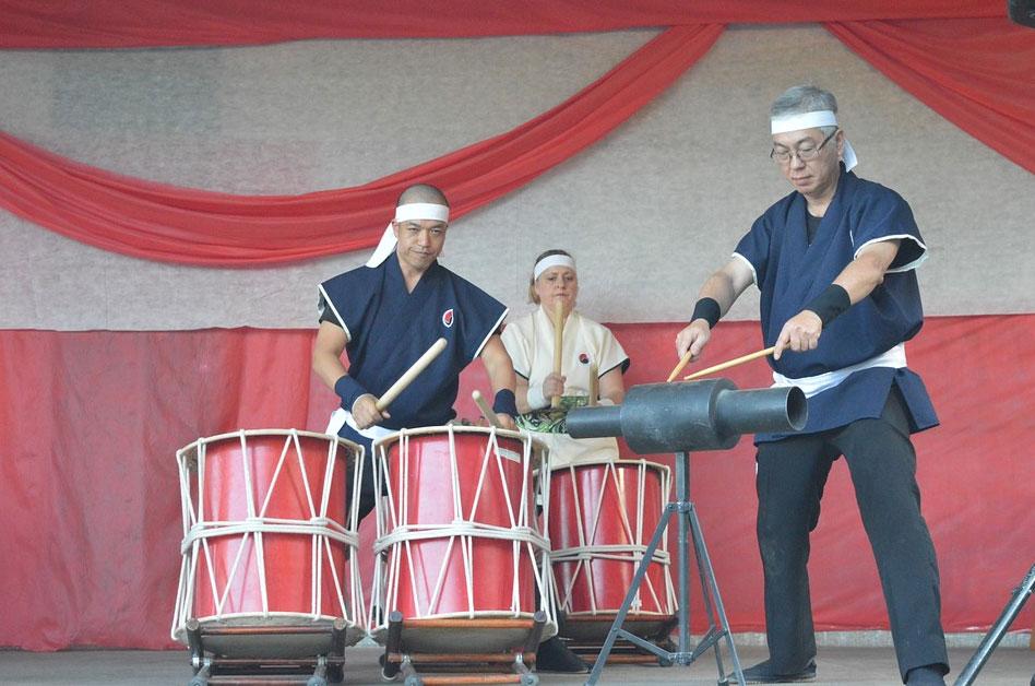 和太鼓の演出