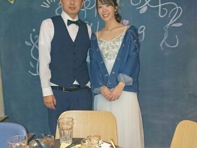 幸せいっぱい!ご結婚おめでとうございます!(2019/05/08)