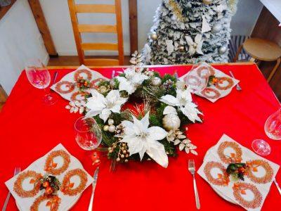クリスマスに少人数のパーティーを!